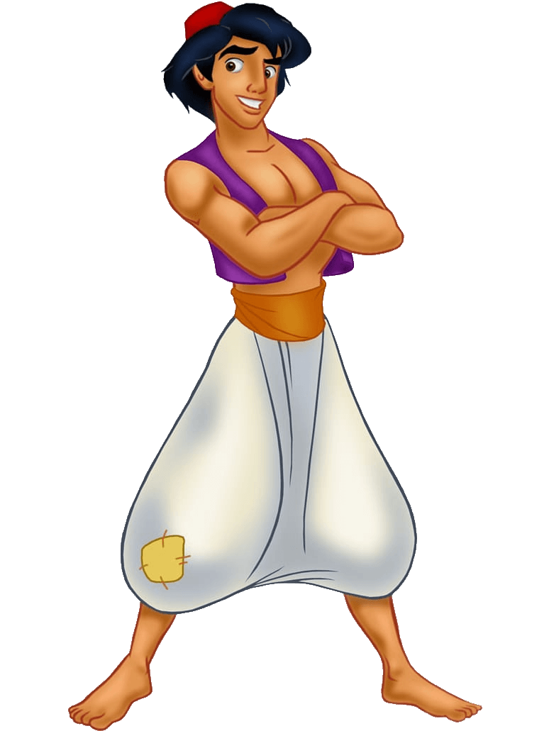 Aladdin Personagem Disney