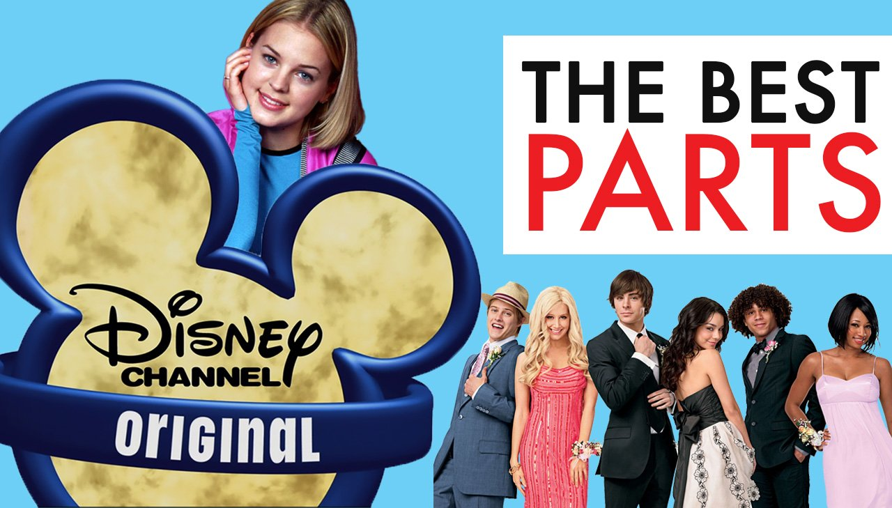 Disney Channel - The best Parts Poster