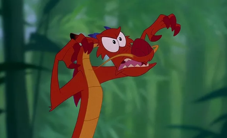 Mushu Filme Mulan Poster Personagem Disney