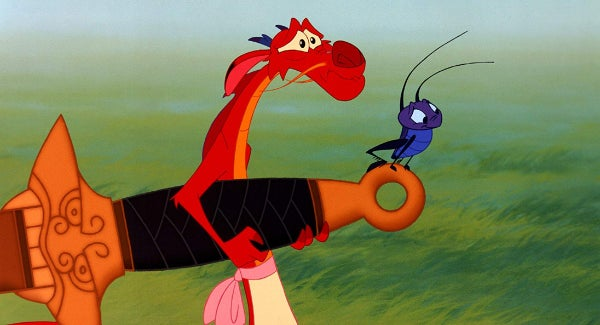 Mushu Arte Filme Mulan Poster Personagem Disney