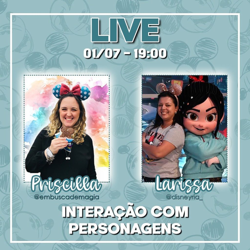 we are going live brasil disneyria no instagram