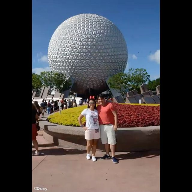 Foto Epcot Entrada Spaceship Earth Filosofia Disney No Instagram Por Disneyria
