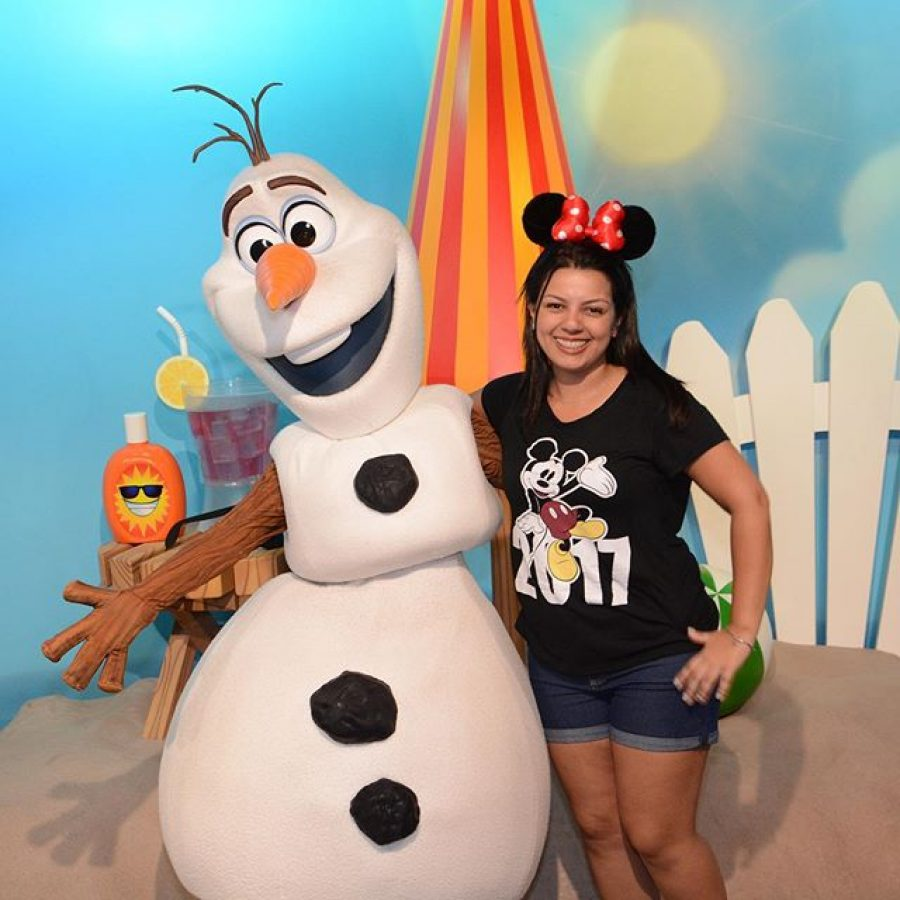 Foto Com Olaf No Disney Hollywood Studios Filosofia Disney No Instagram Por Disneyria