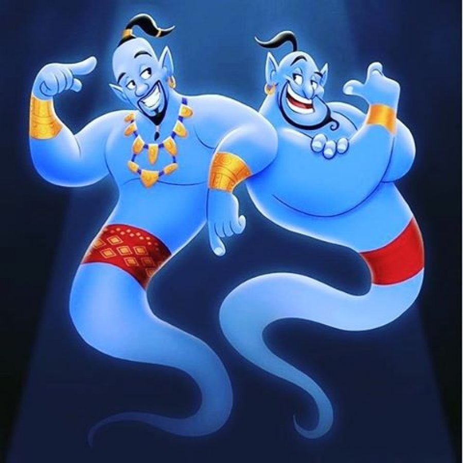Foto Do Gênio De Aladdin Filosofia Disney No Instagram