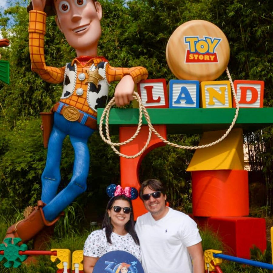 TBT Toy Story Land 2019 Disneyria no Instagram